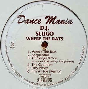DJ Slugo - Where The Rats