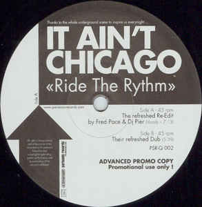 It Ain't Chicago - Ride The Rythm