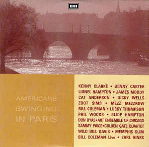 Various - Americans Swinging In Paris cover of release
