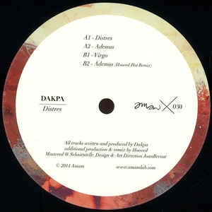 Dakpa - Distres cover of release