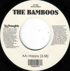 Bamboos, The - Pussy Footin' / Happy
