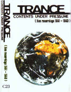 Trance - Contents Under Pressure