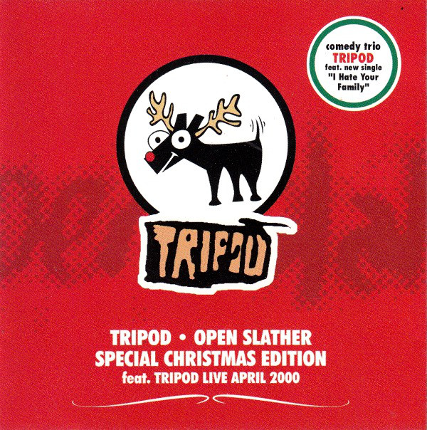 Tripod - Open Slather - Special Christmas Edition cover of release
