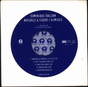 Dominique Dalcan - Aveugle & Sourd (Remixes) cover of release