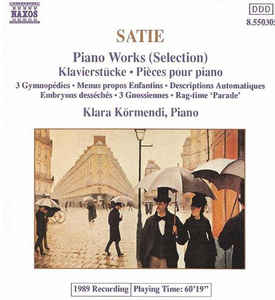 Erik Satie - Piano Works (Selection)