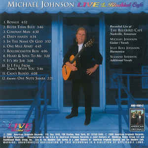 Michael Johnson (5) - Live At The Bluebird Cafe