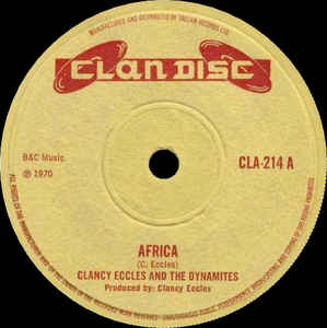 Clancy Eccles - Africa