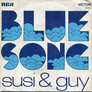 Susi & Guy - Blue Song cover of release